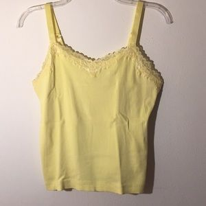 🔷Chico's🔷 Yellow Tank Top - Size 1🔷